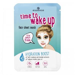 essence - Gesichtsmaske - time to wake up face sheet mask - wake up stand up