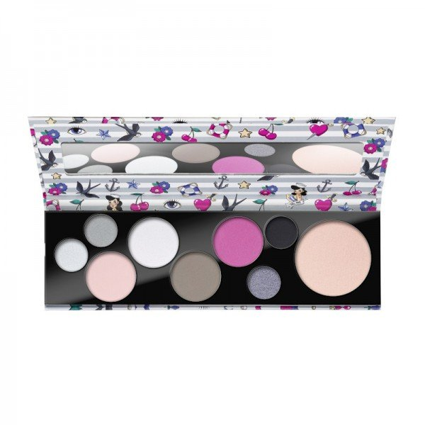 essence - Eyeshadow Palette - not your princess eye & face palette
