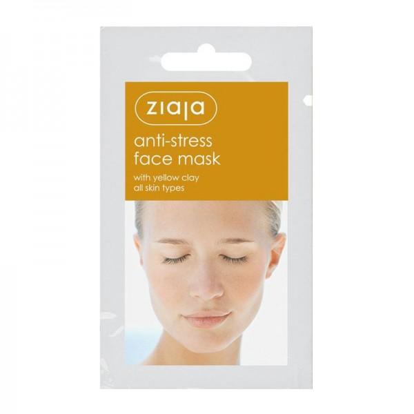 Ziaja - anti-stress face mask with yellow clay