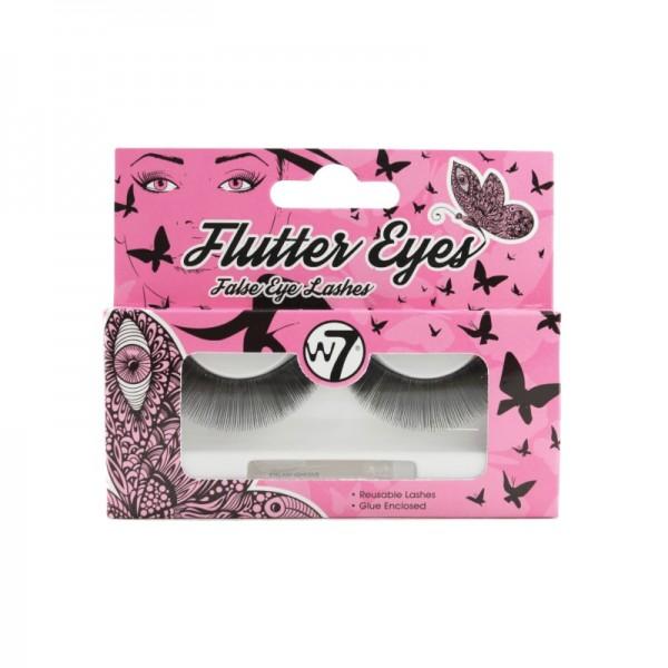 W7 Cosmetics - False Eyelashes - Flutter Eyes - False Eye Lashes - 01