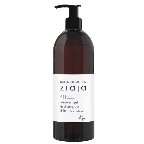 Ziaja - Duschgel - Baltic Home Spa - Fit Mango - Shower Gel & Shampoo 3in1