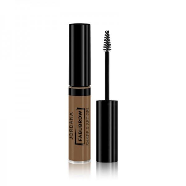 Jordana - Augenbrauengel - Fabubrow Shape & Set Gel - Soft Brown