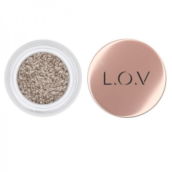 L.O.V - Lidschatten - THE GALAXY Eyeshadow & Liner 520 Champagne Sparks
