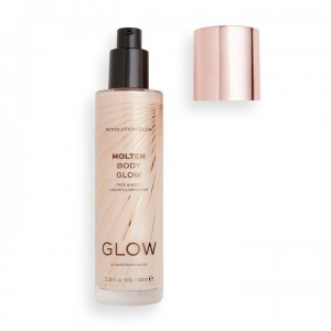 Revolution - Flüssiger Highlighter - Glow Collection - Molten Body Glow - Gold