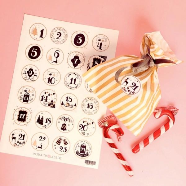 lenibeauty - DIY Adventskalenderset 6 - DIY Advent Calendar Set