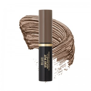 Milani - Augenbrauengel - Stay Put Brow Shaping Gel - 02 Soft Brunette