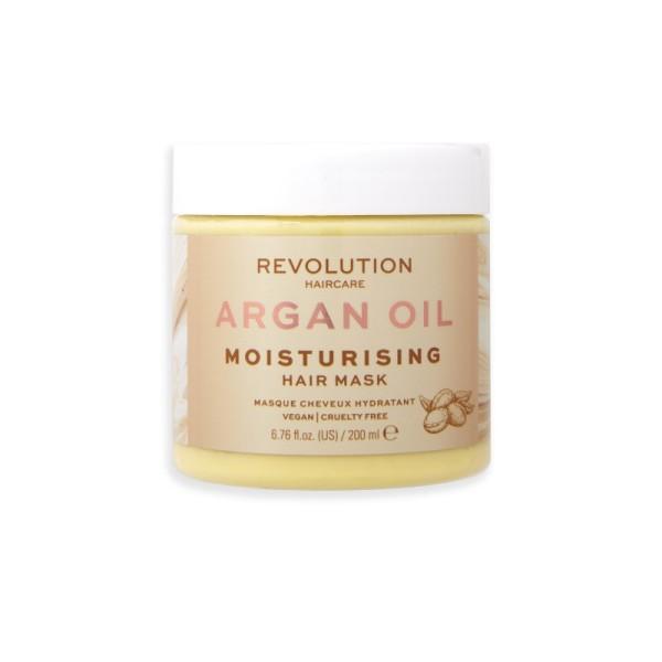 Revolution - Haarmaske - Hair Mask Moisturising Argan Oil