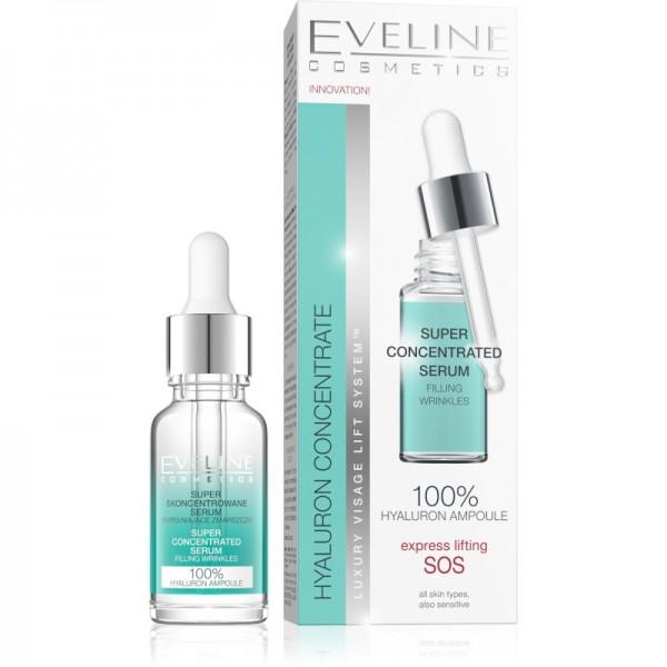 Eveline Cosmetics - Serum - Hyaluron & Collagen super konzentriertes Serum