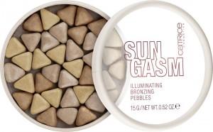 Catrice - Bronzer - SUNGASM Illuminating Bronzing Pebbles