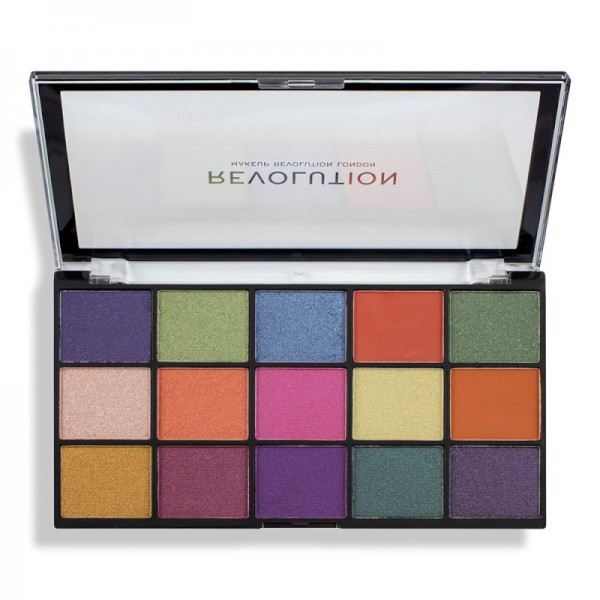 Revolution - Eyeshadow Palette - Reloaded Palette - Passion for Colour