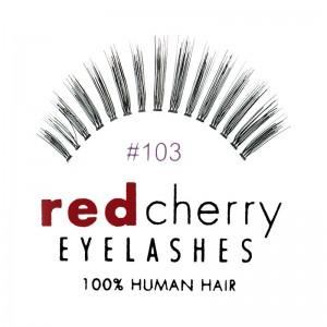 Red Cherry - Falsche Wimpern Nr. 103 Lelaina - Echthaar