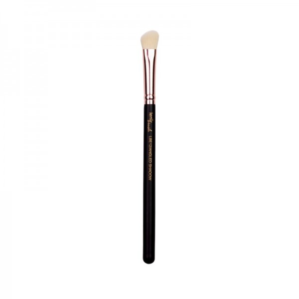 lenibrush - Angled Shadow Brush - LBE12 - Matte Black Edition