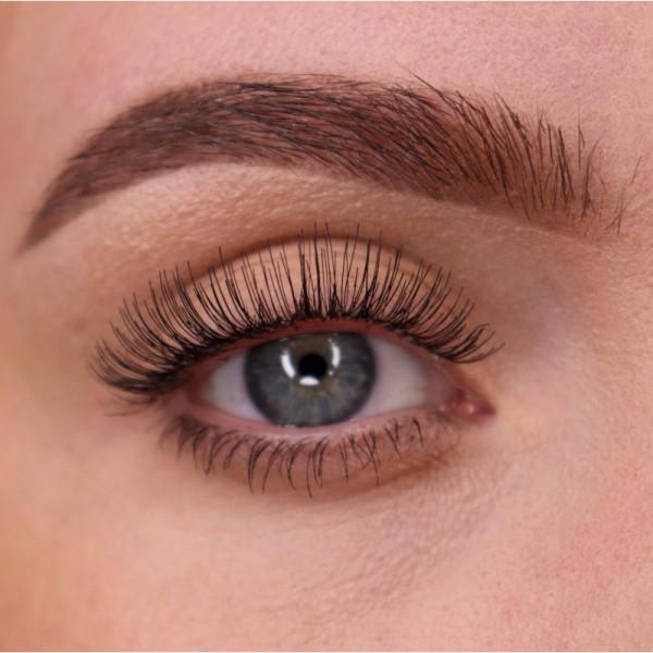 lenilash - False Eyelashes - Black - Human Hair - Nr.148