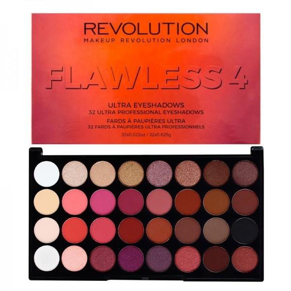 Makeup Revolution - Lidschattenpalette - Flawless 4