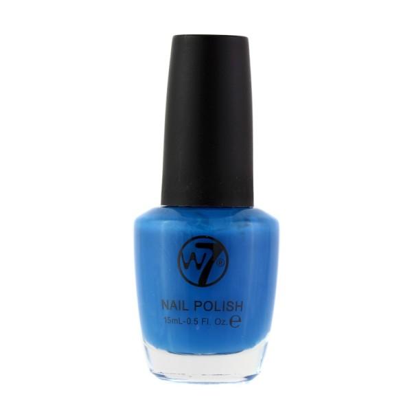 W7 Cosmetics - Nagellack - Neon Blue - 22