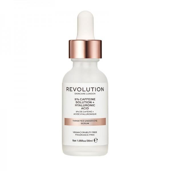 Revolution - Skincare Targeted Under Eye Serum - 5% Caffeine Solution + Hyaluronic Acid