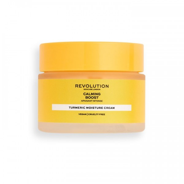 Revolution - Tagespflege - Skincare Calming Boost Cream with Turmeric