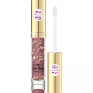 Eveline Cosmetics - Lucidalabbra - Glow And Go Extreme Shine Lip Gloss - 09 Dark Nude
