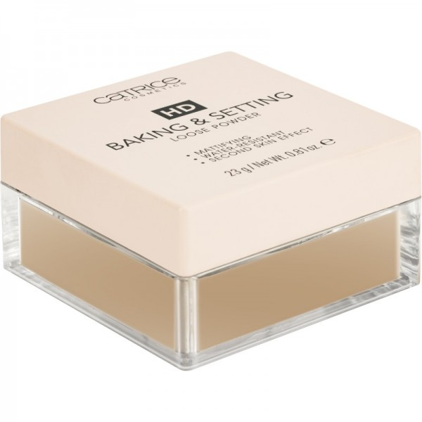 Catrice - HD Baking & Setting Loose Powder - C04