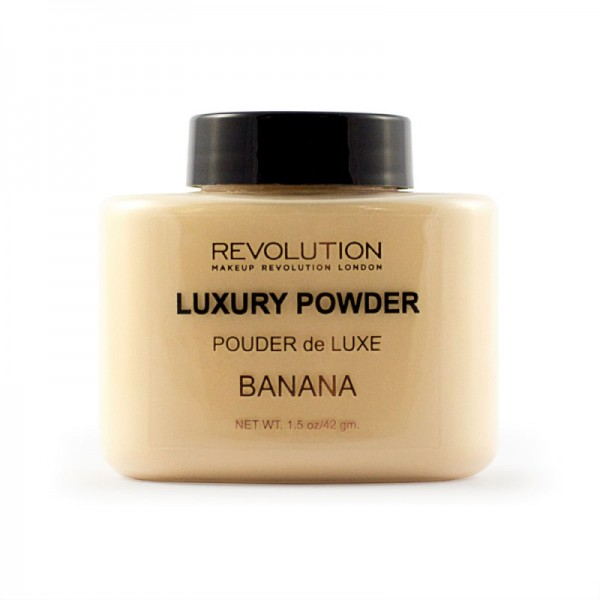 Makeup Revolution - Puder - Luxury Powder - Banana