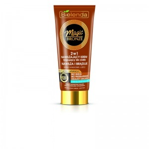 Bielenda - Magic Bronze Moisturizing Bronzing Body Cream 2 In 1 - Light Skin