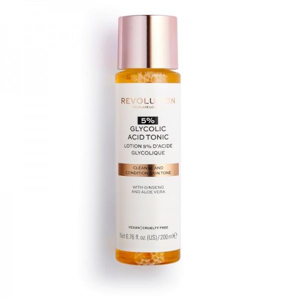 Revolution - Hautpflege - Skincare 5% Glycolic Acid Toner