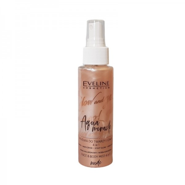 Eveline Cosmetics - Glow And Go Aqua Miracle Face Mist Nude
