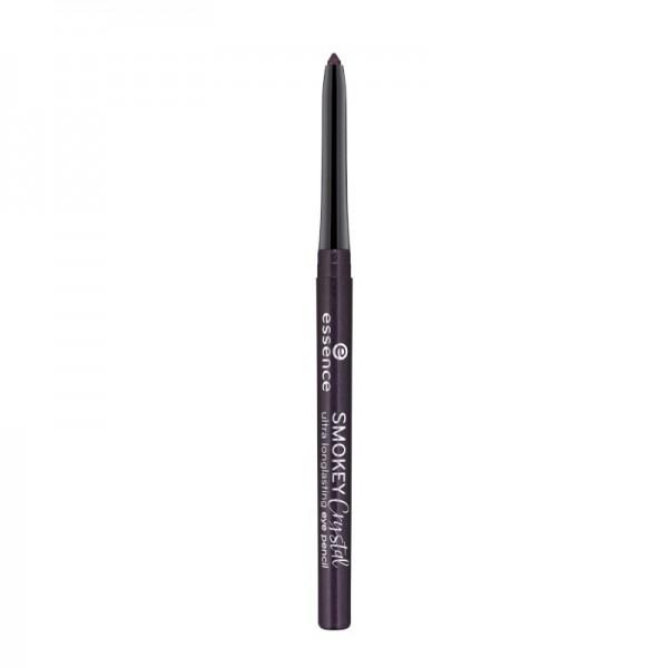 essence - Eyeliner - smokey crystal ultra longlasting eye pencil - 04 amethyst