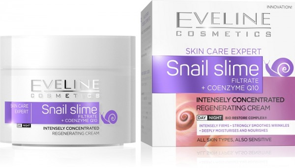 Eveline Cosmetics - Snail Slime Filtrate + Coenzyme Q10 Intensely Concentrated Day/Night Cream 50Ml