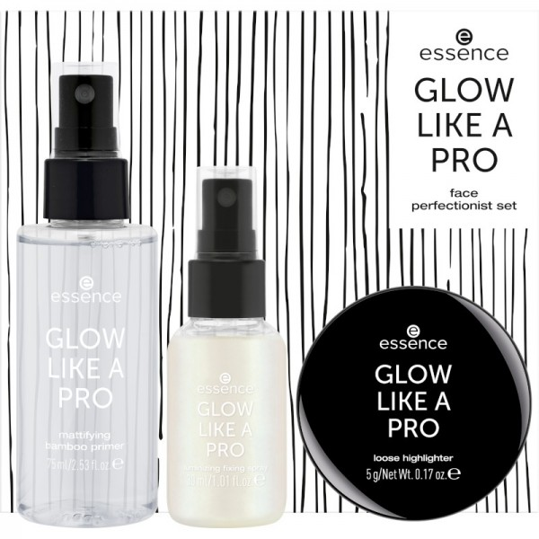 essence - Make Up Set - online exclusives - GLOW LIKE A PRO face perfectionist set 02 - Holo shine