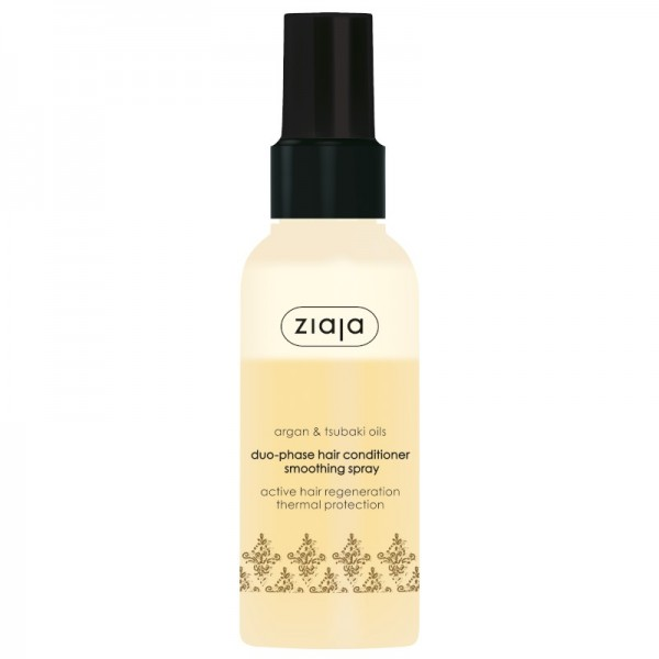 Ziaja - Haarpflegespray - Argan & Tsubaki Oils Duophase Hair Conditioner Smoothing Spray