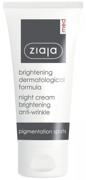 Ziaja Med - Brightening Anti Wrinkle Night Cream