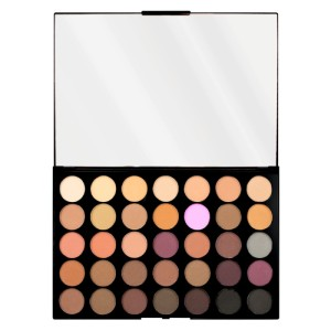Makeup Revolution - Lidschattenpalette - Pro HD Palette Amplified 35 - Neutrals Cool