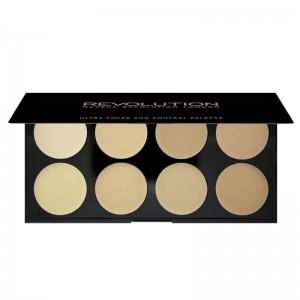 Makeup Revolution - Ultra Cover and Concealer Palette - Light