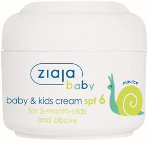 Ziaja - Baby-Sonnencreme - Baby & Kids Cream SPF6 - 3 Months and older