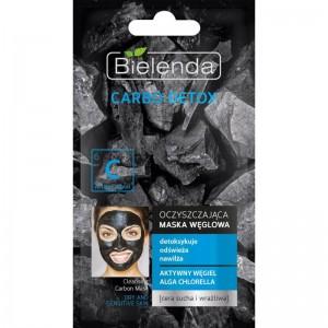 Bielenda - Gesichtsmaske - Carbo Detox Cleansing Carbon Mask trockene und sensible Haut