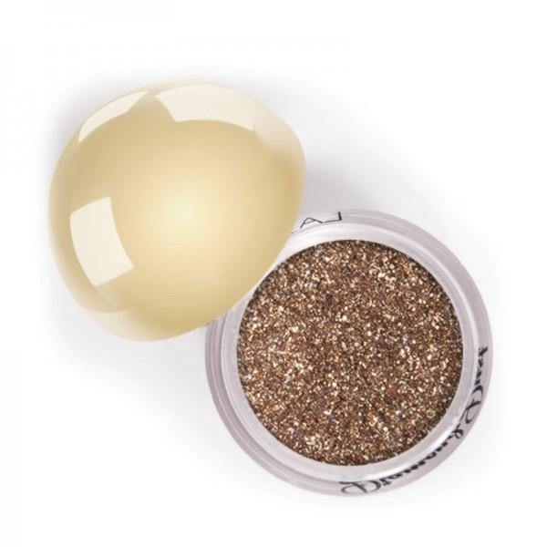 LASplash Cosmetics - Mono Lidschatten - Diamond Dust Mineral Shadow - Smoky Quartz