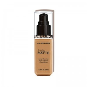 LA Colors - Truly Matte Liquid Foundation - Warm Honey