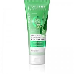 Eveline Cosmetics - Gesichtsmaske - Facemed+ feuchtigkeitsspendende Aloe Vera Maske