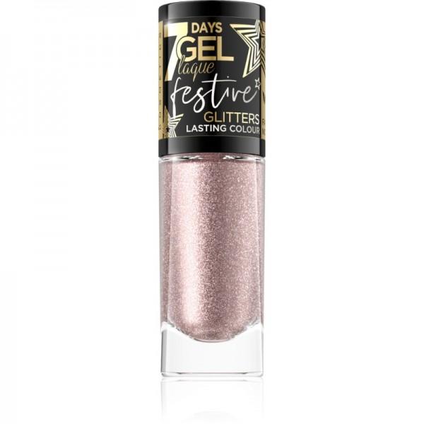 Eveline Cosmetics - Samlto per unghie - 7 Days Gel Laque Festive Glitters - 04