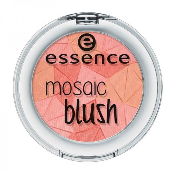 essence - Rouge - mosaic blush 10 - miss floral coral