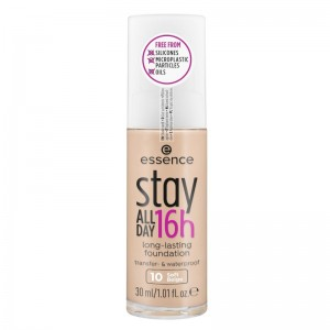 essence - Foundation - stay ALL DAY 16h long-lasting Foundation 10 - Soft Beige