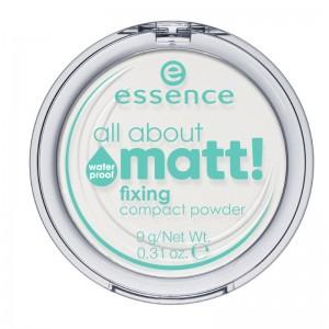 essence - Puder - all about matt! fixing compact powder waterproof