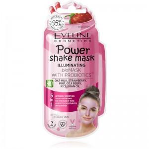 Eveline Cosmetics - Gesichtsmaske - Power Shake Mask Illuminating