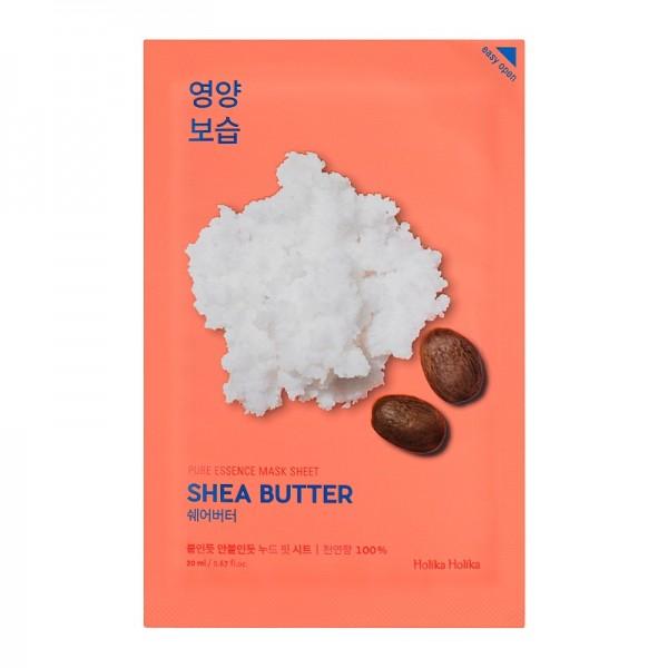 Holika Holika - Gesichtsmaske - Pure Essence Mask Sheet - Shea Butter