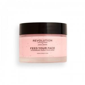 Revolution - Gesichtsmaske - Revolution Skincare x Jake Jamie - Strawberry Donut Face Mask