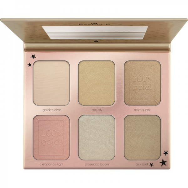 essence - Highlighterpalette - you are gold! highlighter palette