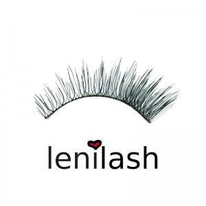 lenilash - False Eyelashes Black 104 - Human Hair