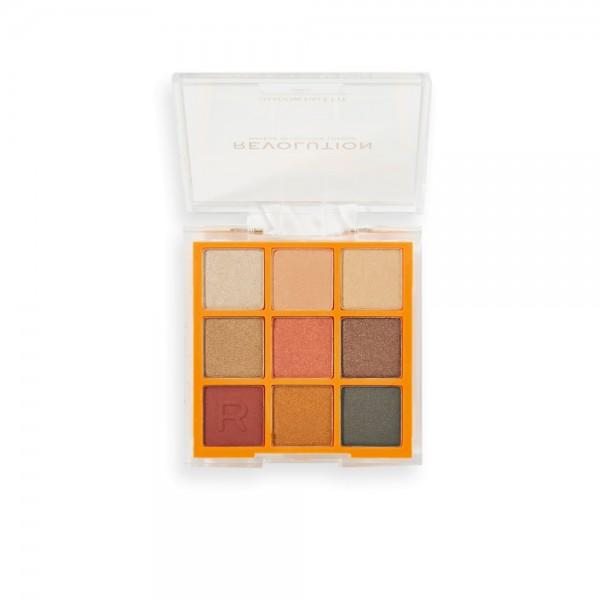 Revolution - Lidschattenpalette - Neon Heat Eyeshadow Palette - Orange Blaze