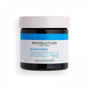 Revolution - Gesichtsmaske - Skincare Thirsty Mood Quenching Overnight Face Mask